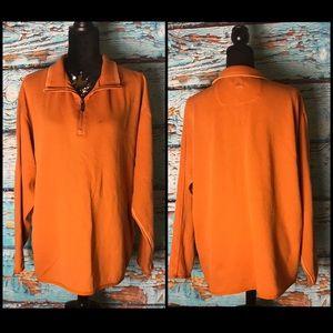 Tommy Bahama Orange Pullover